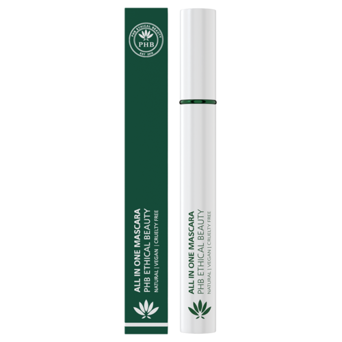 PHB Ethical Beauty All in One Natural Mascara - Zwart