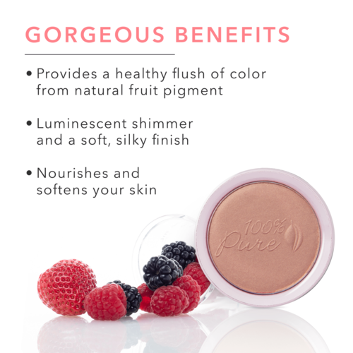100% Pure Fruit Pigmented® Blush - Pretty Naked
