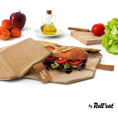 Roll'Eat Boc'n'Roll Foodwrap  - Nature Brown