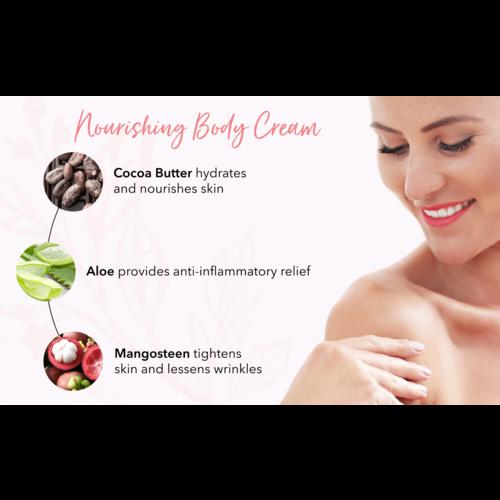 100% Pure Nourishing Body Cream - Honey Almond