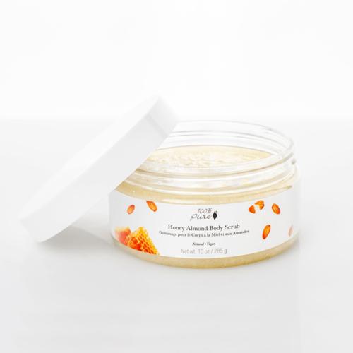 100% Pure Body Scrub - Honey Almond