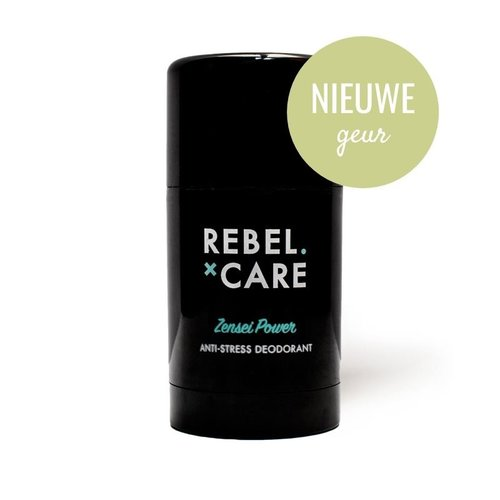 Loveli Deodorant Voor Mannen Zonder Aluminium Rebel Care XL - Zensei Power (75ml)