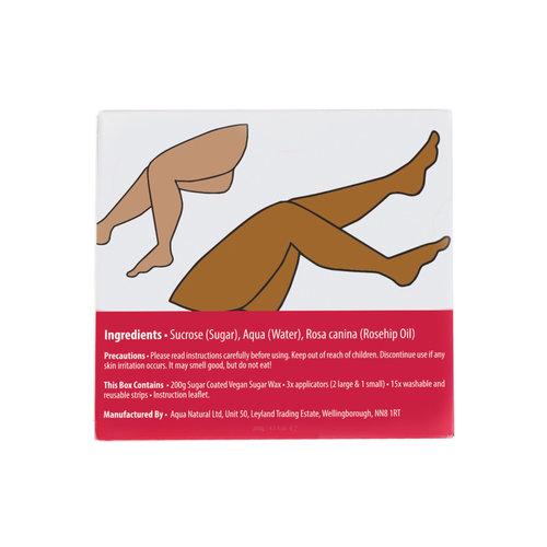 Sugar Coated Leg Hair Removal Kit