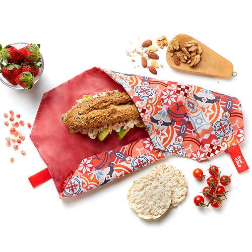 Roll'Eat Boc'n'Roll Foodwrap - Patchwork Oranje