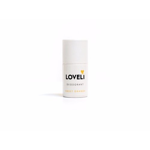 Loveli Deodorant Zonder Aluminium - Sweet Orange Mini (6g)