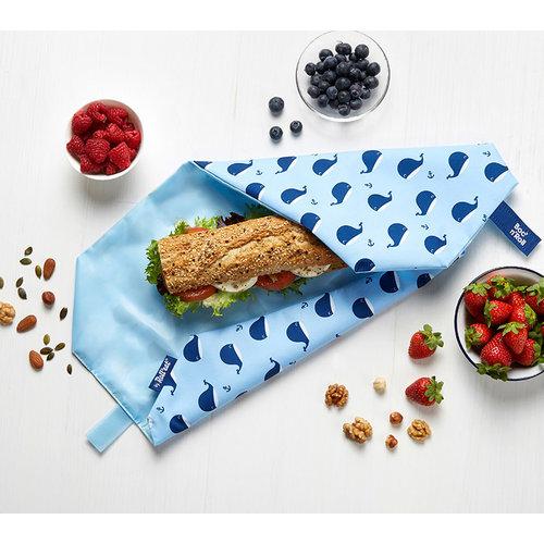 Roll'Eat Boc'n'Roll Foodwrap - Whales