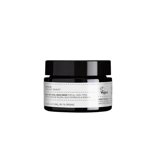 Evolve Beauty Bio Retinol Gold Mask - Travel Size