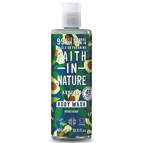 Faith In Nature Body Wash Avocado (400ml)