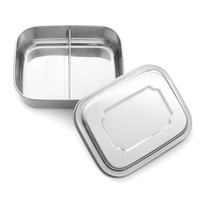 Stainless Steel Lunchbox - 2 Compartments