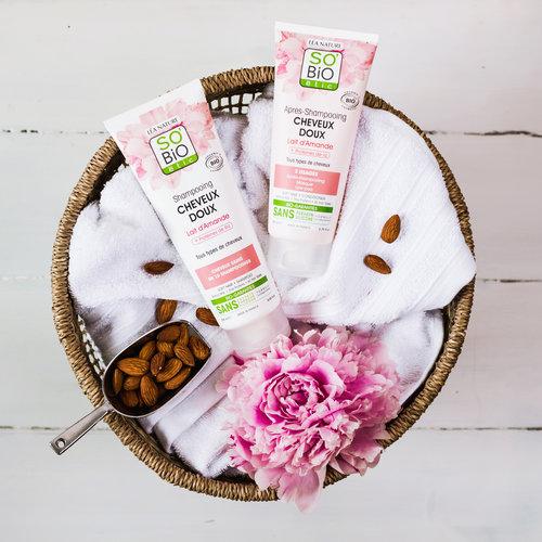 So'Bio Étic Shampoo - Soft Hair Almond Milk