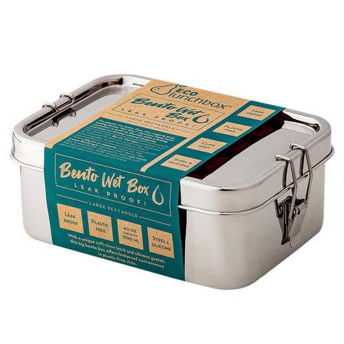 Eco Lunchbox Bento Wet Box - Rechthoekig