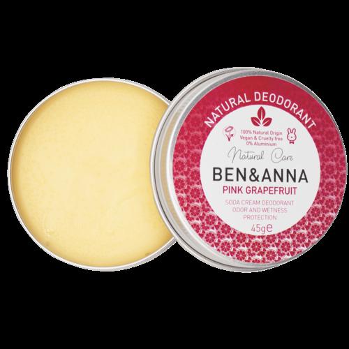 Ben & Anna Deodorant Creme - Pink Grapefruit