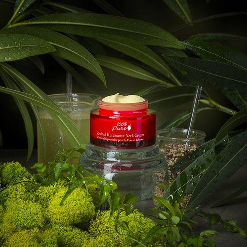 100% Pure Retinol Restorative Neck Cream