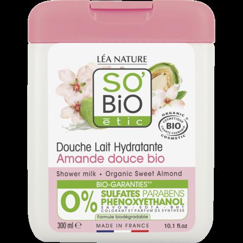 So'Bio Étic Shower Milk - Sweet Almond