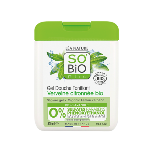 So'Bio Étic Shower Gel - Lemon Verbena