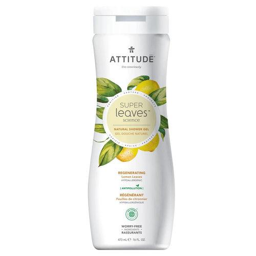 Attitude Super Leaves Shower Gel - Regenerating