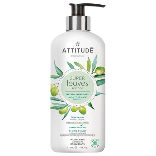 Attitude Natural Hand Soap - Olive Leaves