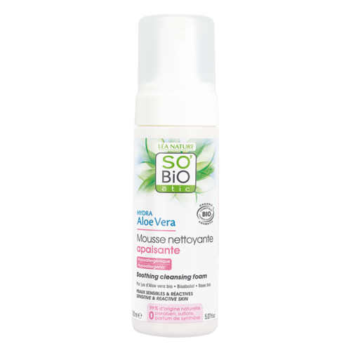 So'Bio Étic Hydra Aloe Vera Soothing Cleansing Foam