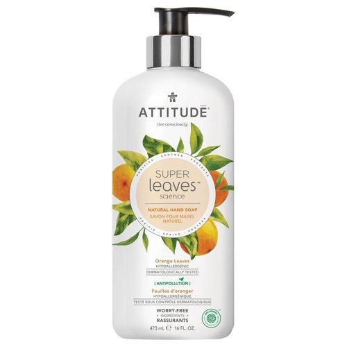 Attitude Natuurlijke Handzeep - Orange Leaves