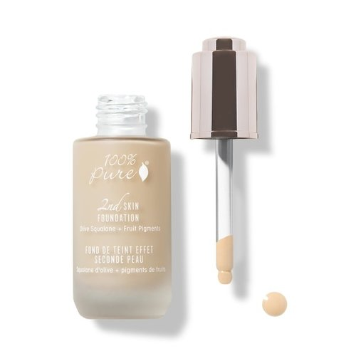 100% Pure Fruit Pigmented 2nd Skin Foundation