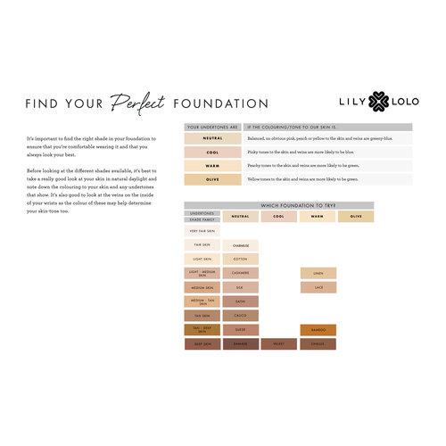 Lily Lolo Cream Foundation