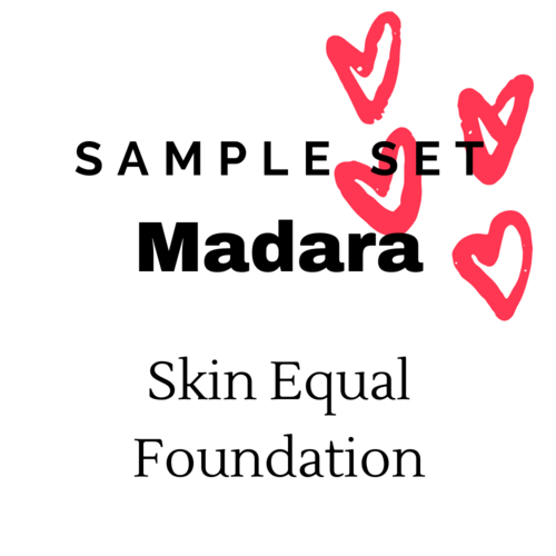 Madara Sample Set - Skin Equal Foundation (Medium-Dark Skin)