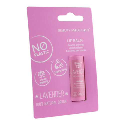 Beauty Made Easy Paper Tube Lipbalm - Lavender