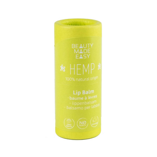 Beauty Made Easy Paper Tube Lipbalm - Hemp