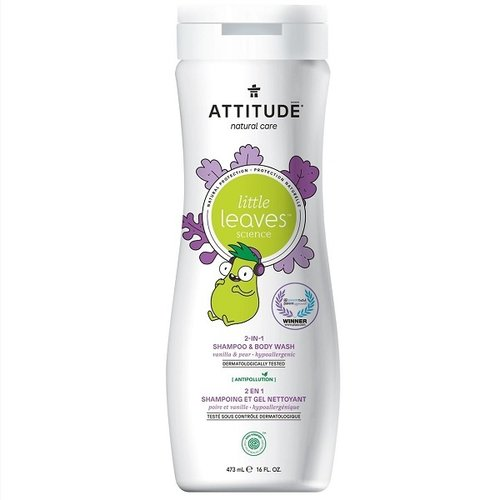 Attitude Little Leaves 2-in-1 Shampoo - Vanilla Pear
