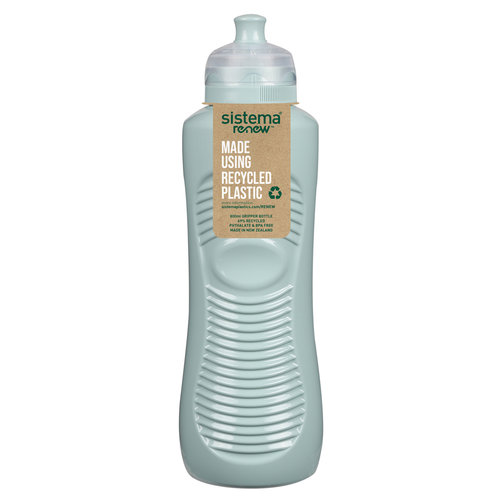Sistema Renew Drinkfles Gripper 800ml - Licht Blauw/Groen