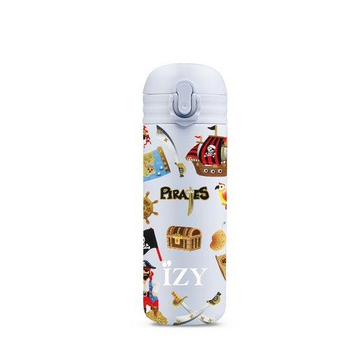 IZY Kids RVS Thermosfles (350ml) - Pirates