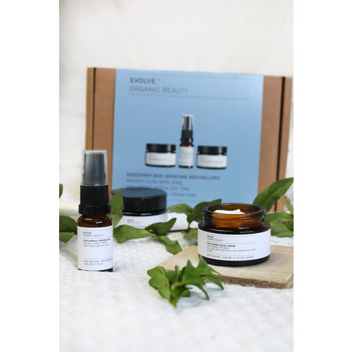 Evolve Beauty Discovery Box - Skincare Bestsellers