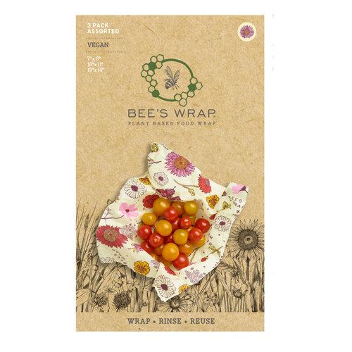 Bee's Wrap Vegan Wrap (S/M/L) - Meadow Magic