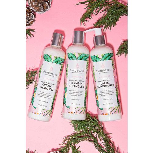 Flora & Curl Hydrate Me Trio Gift Set