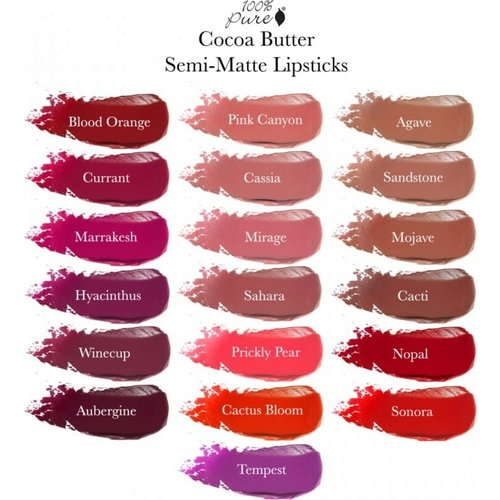 100% Pure Cocoa Butter Matte Lipstick