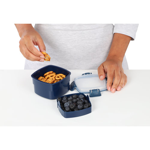Sistema Renew Snack To Go Bakje - Donkerblauw