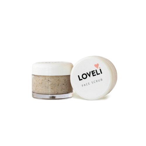 Loveli Face Scrub (10ml) - Travel Size
