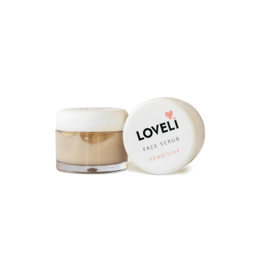 Loveli Face Scrub Sensitive (10ml) - Travel Size
