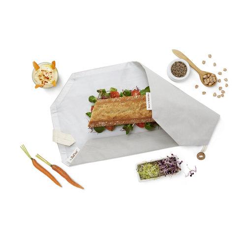 Roll'Eat Bio Boc'n'Roll Foodwrap - Grijs