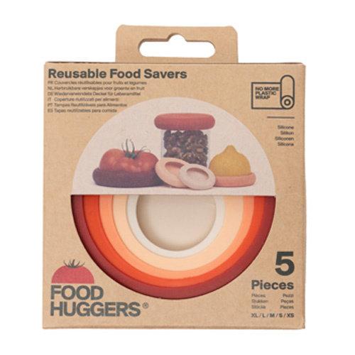 Food Huggers Terracotta Food Huggers - 5 stuks