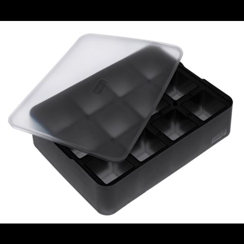 Lurch Siliconen Ijsblokjesvorm met Deksel 4x4cm