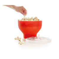 Siliconen Opvouwbare Popcornmaker voor Magnetron