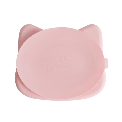 We Might Be Tiny Silicone Stickie Plate - Powder Pink