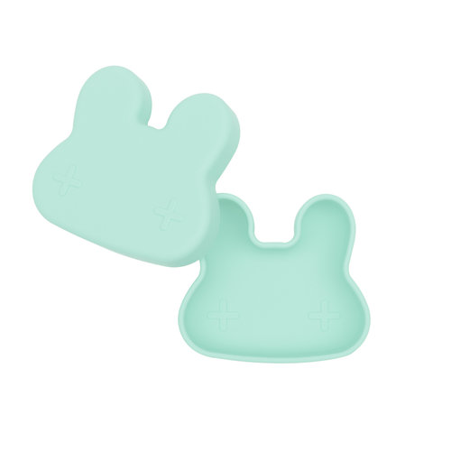 We Might Be Tiny Siliconen Snackie Bunny - Minty Green