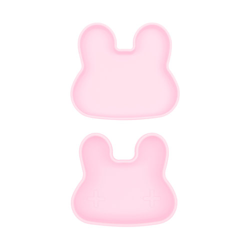 We Might Be Tiny Siliconen Snackie Bunny - Powder Pink