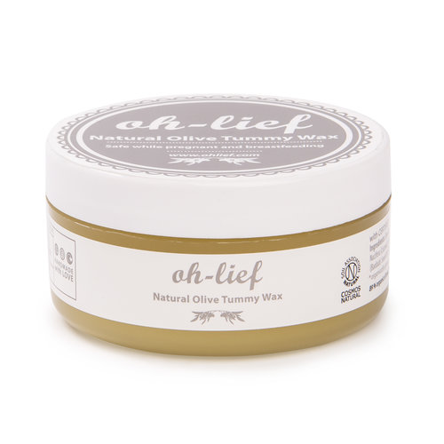 Oh Lief Natural Olive Tummy Wax