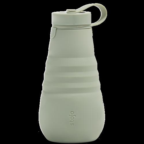 Stojo Foldable Drinking Bottle 590ml - Sage