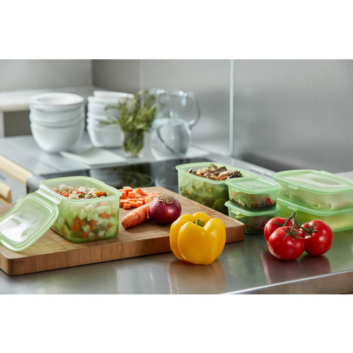 Lekue Silicone Food Storage Container - 200ml