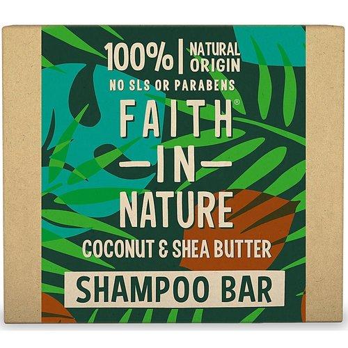 Faith In Nature Shampoo Bar Coconut & Shea Butter
