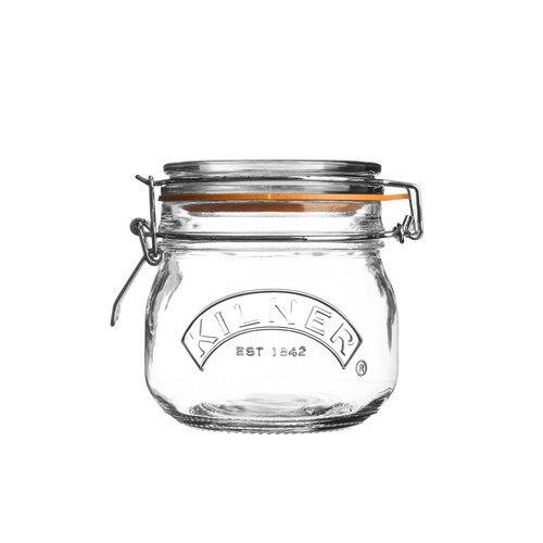 Kilner Glazen Voorraadpot met Beugelsluiting - 500ml